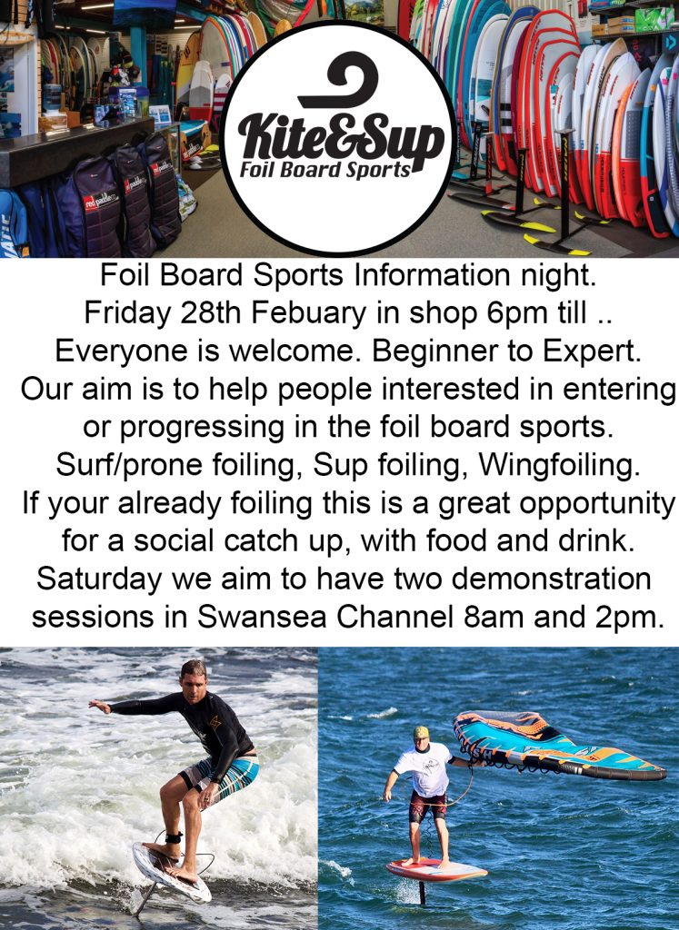 Foil Board Sports Information Night & Demo Day